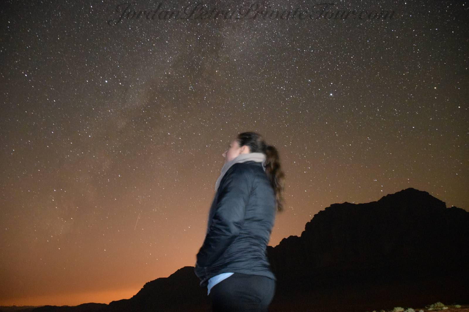 Jordan Tours stargazing at Wadi Rum