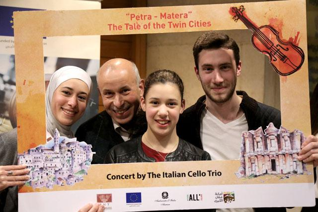 Jordan Celebrates Petra Twinning with EU's 2019 Cultural City 'Matera' in Italy